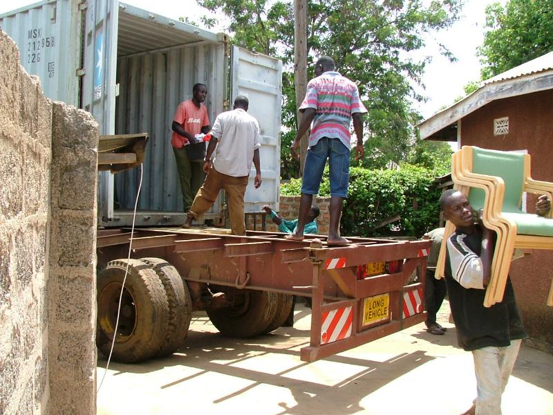 Containern i Kenya 2003